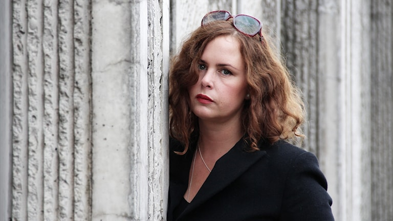 Hanna Hellquist. Foto: Lars-Gunnar Olsson/Sveriges Radio.