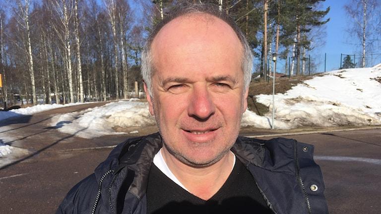 En bild på Milenko Vukcevic. Foto: Per Larsson/Sveriges Radio.