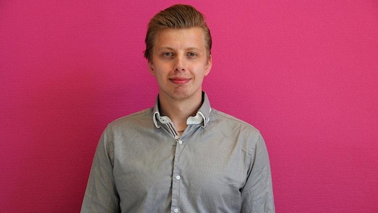 Anders Viking Pettersson, ordförande för LUF Värmland blev i helgen invald i förbundsstyrelsen. Maria Rosén/Sveriges Radio