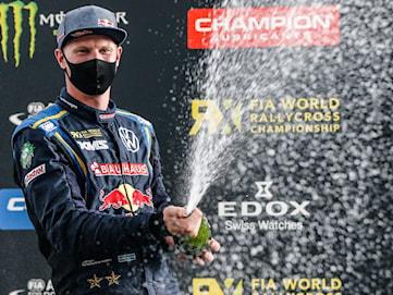Kristoffersson blir världsmästare i rallycross för tredje gången