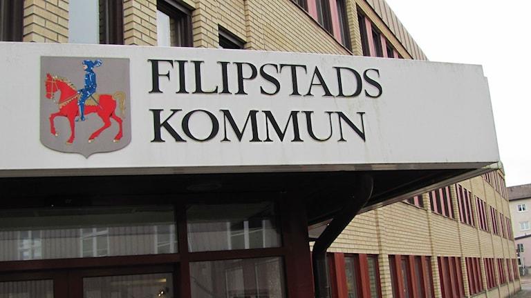 Filipstads kommunhus. Foto: Magnus Hermansson/Sveriges Radio.