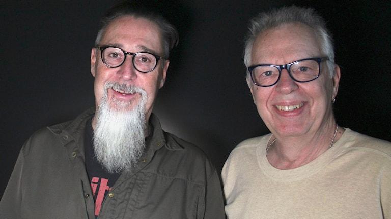 Janne Zander och Bert Deivert.