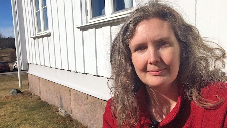 Monika Bubholz, Miljöpartiet. Foto: Jenny Tibblin/Sveriges Radio.