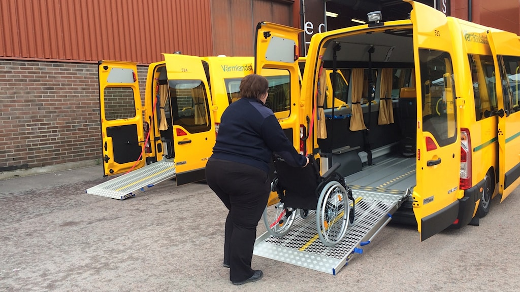 Keolis nya bussar färdtjänst sjuktransport värmlandstrafik