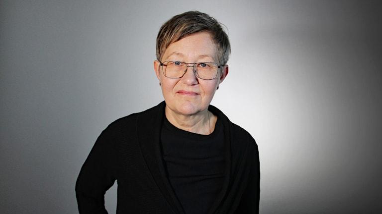 Marita Axelsson. Foto: Lars-Gunnar Olsson/Sveriges Radio.