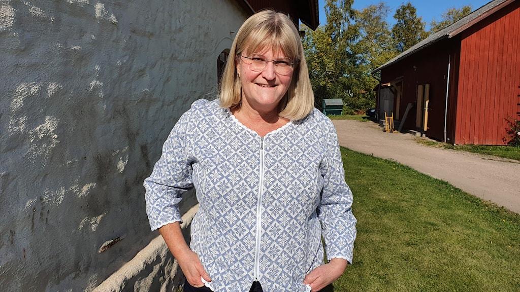 Eva Larsson, näringslivschef i Torsby kommun. Foto: Aron Eriksson/Sveriges Radio.