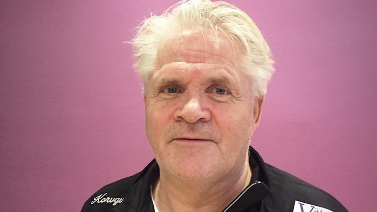 Per-Erik Saikoff, tränare Boltic. Foto: Robert Ojala/Sveriges Radio.