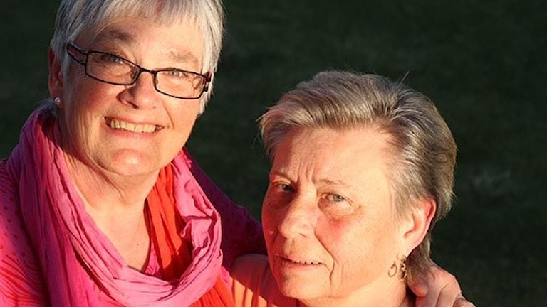Ulla Jansson och Else Fryk. Foto: Anders Broqvist.