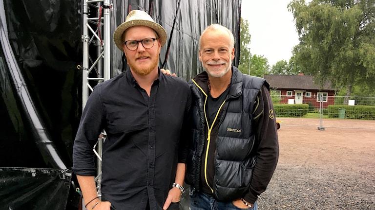 Sven-Ingvars med Oscar Magnusson och Staffan Ernestam.