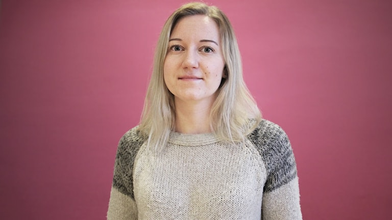 Adina Augustsson. Foto: Lars-Gunnar Olsson/Sveriges Radio.