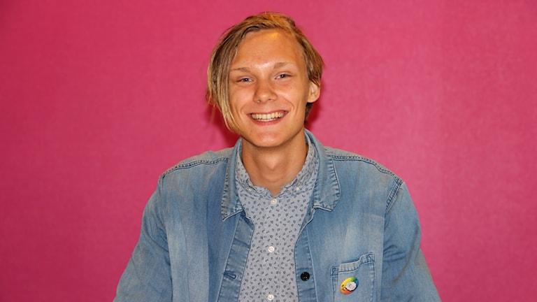 Hazel Svensson, Projektledare för Värmland Pride. Foto Örjan Bengtzing