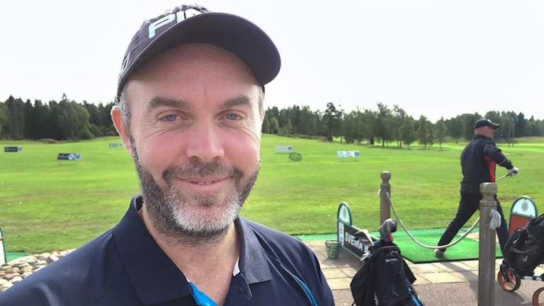 Christian Nilssons comeback störs av skada. Foto: Robert Ojala/Sveriges Radio