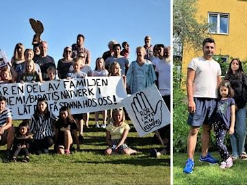 Familjen Hashemi-Barati får stanna i Sverige