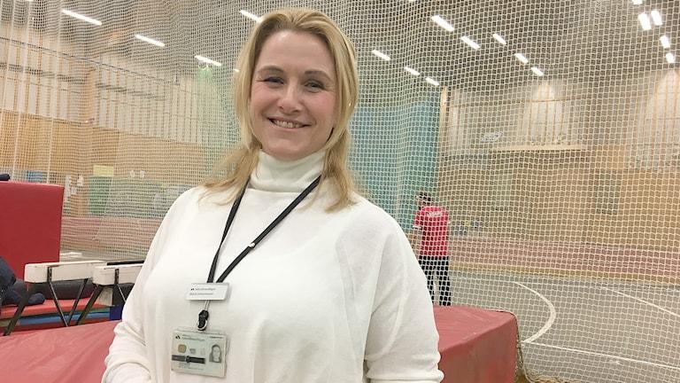 Maria Johannesson. Foto: Sara Johansson/Sveriges Radio.