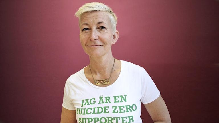 Marie Niljung. Foto: Lars-Gunnar Olsson/Sveriges Radio.