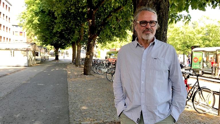 Jan Bergstam, ordförande i Svenska rovdjursföreningen, Karlstad