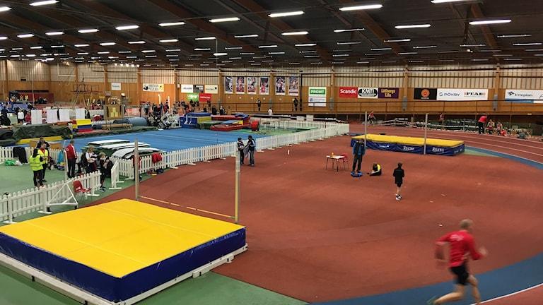 Våxnäshallen i Karlstad. Foto: Jenny Norberg/Sveriges Radio.