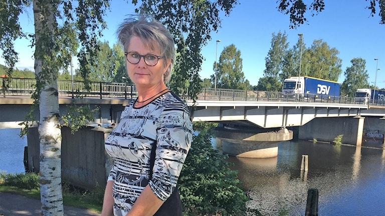 Gunilla Ingemyr (C), kommunalråd i Sunne. Foto: Sara Johansson/Sveriges Radio.