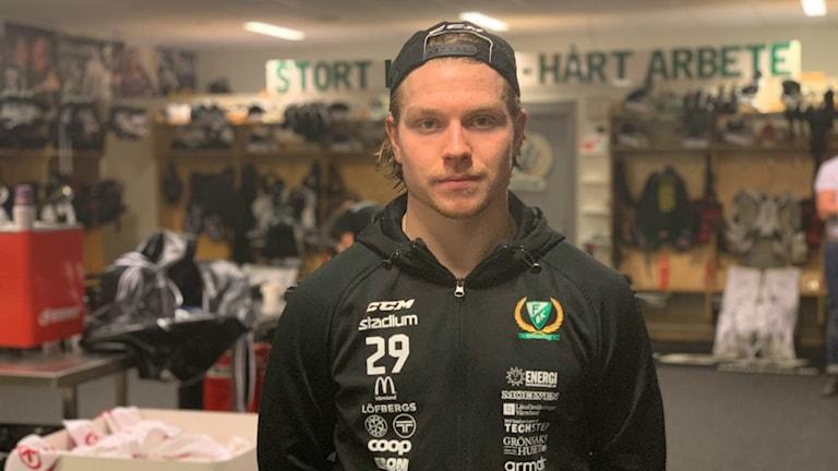 Färjestads Oscar Steen.