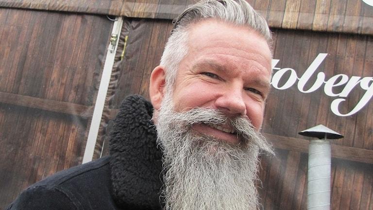 Niclas Lagerstam. Foto: Magnus Hermansson/Sveriges Radio.