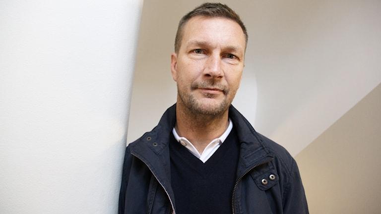 Johan Pennerborn. Foto: Lars-Gunnar Olsson/Sveriges Radio.