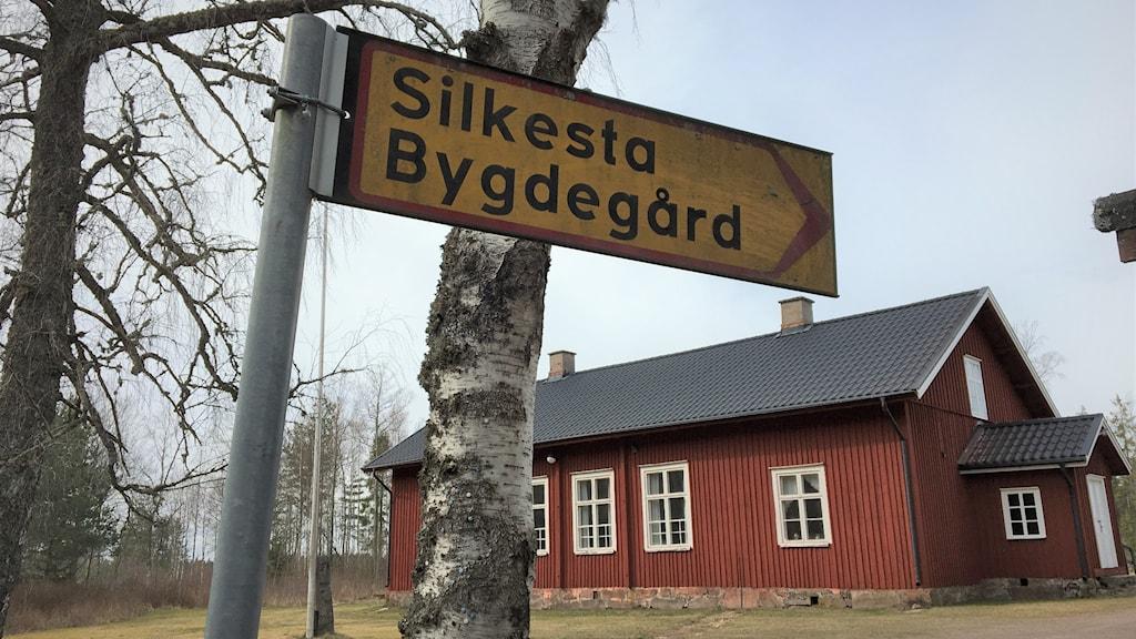 Silkesta bygdegård. Foto: Jonas Berglund/Sveriges Radio.