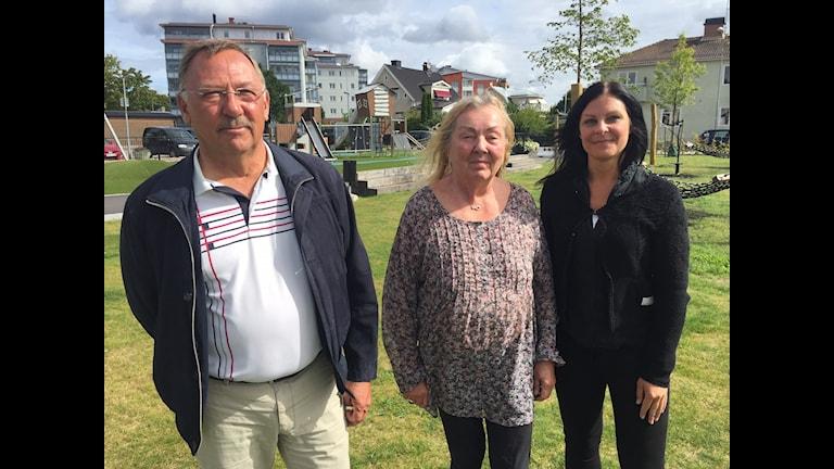 Kil hela veckan Lars Hultkranz, Ulla Mortensen Kil intregationsförening. Malin Lövendal, sammordnare på kommun
