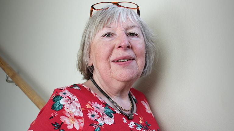 Monica Ståhl, IOGT-NTO Värmland. Foto: Lars-Gunnar Olsson/Sveriges Radio.