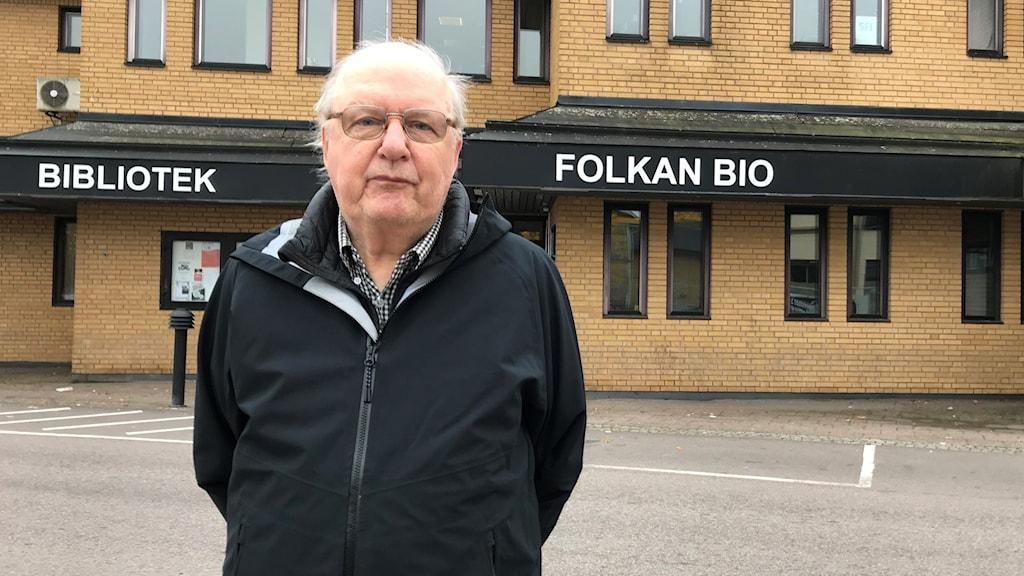 Ulf Söhrman. Foto: Victoria Svärd Karlsson/Sveriges Radio.