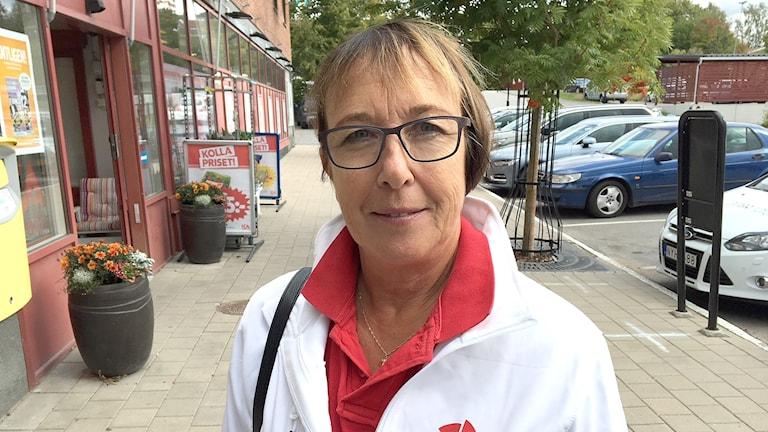 Ann-Katrin Järåsen, Socialdemokraterna i Torsby. Foto: Magnus Hermansson/Sveriges Radio.