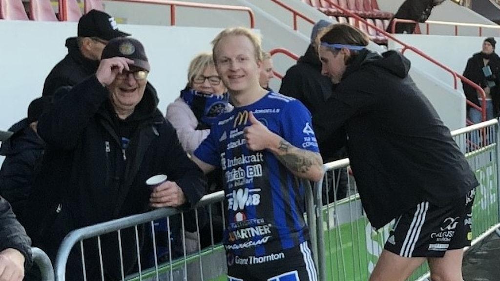 Karlstad fotboll, Oskar Alvers med morfar