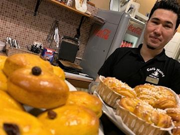 Coronakrisen tuff utmaning för cafeägaren Nabi