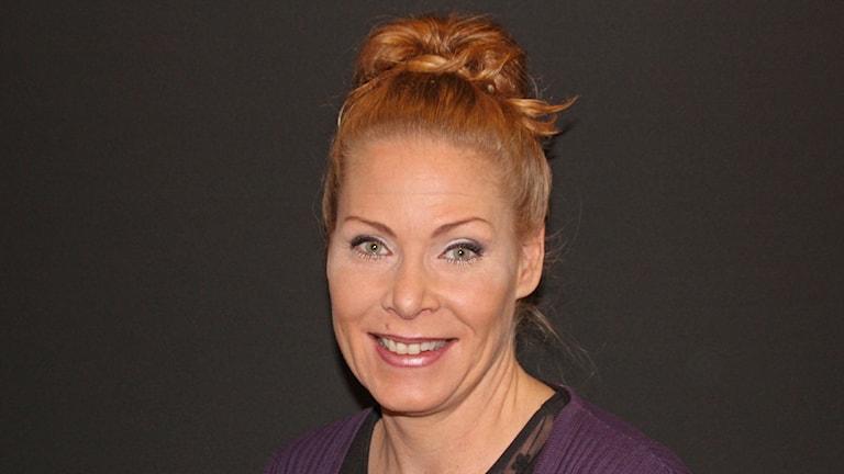 Marlene Lund Kopparklint, moderaterna. Foto Björn Söderholm/Sveriges Radio.