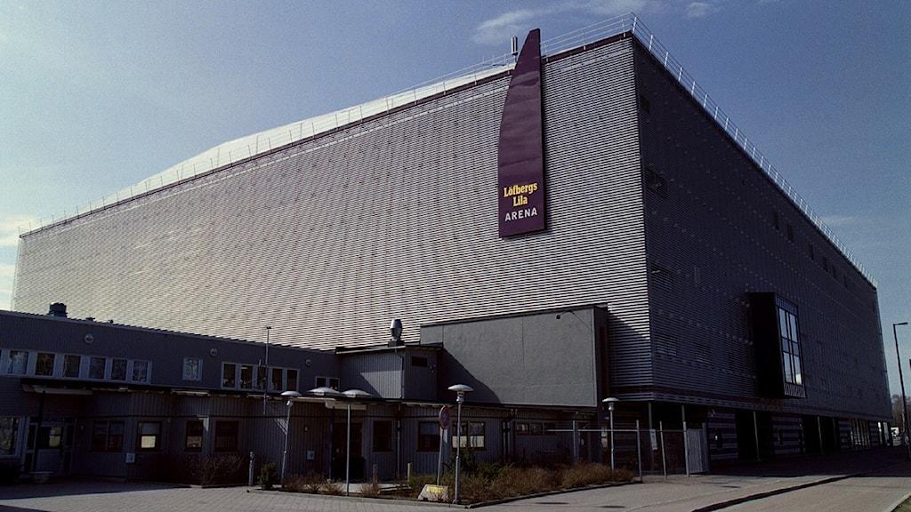Löfbergs Lila Arena i Karlstad. Foto: Fredrik Persson/Scanpix.