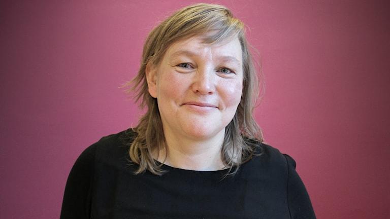 Ann-Catrin Kärnä, översiktsplanerare på Karlstads kommun. Foto: Lars-Gunnar Olsson/Sveriges Radio.