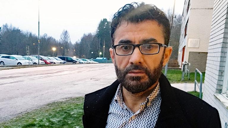 Rauf Ahmadi. Foto: Sara Johansson/Sveriges Radio.