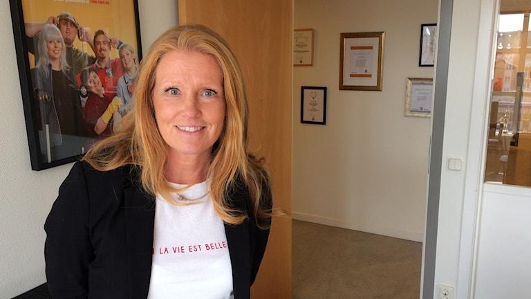 Ann-Sofie Gustafsson, utvecklingsledare på vård- och omsorgsförvaltningen