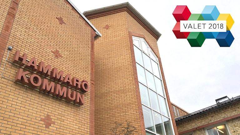 Kommunhuset på Hammarö. Foto: Sveriges Radio.