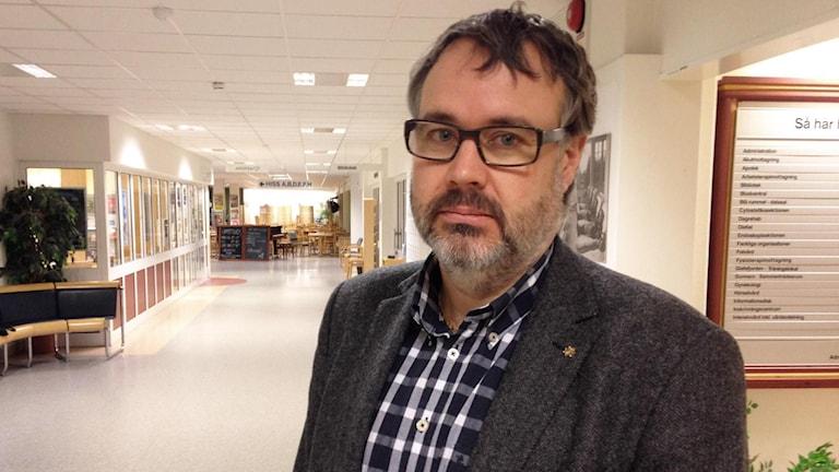 Tobias Kjellberg. Foto: Robert Ojala/Sveriges Radio.