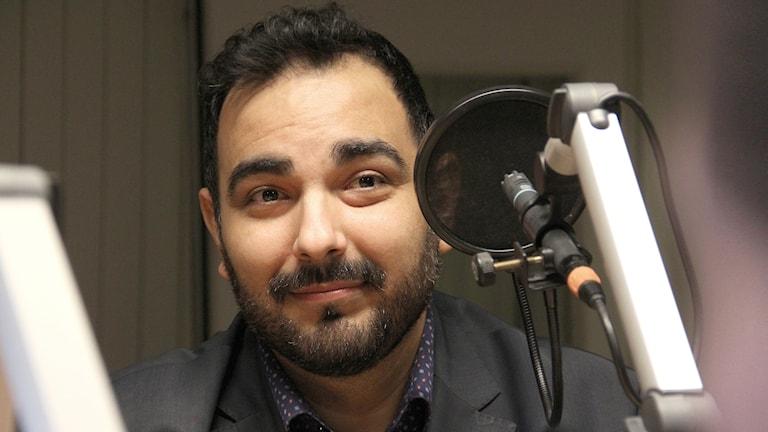 Arman Teimouri, Liberalerna. Foto: Lars-Gunnar Olsson/Sveriges Radio.