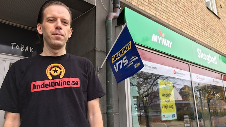 Johan Engström, butiksägare Skoghall