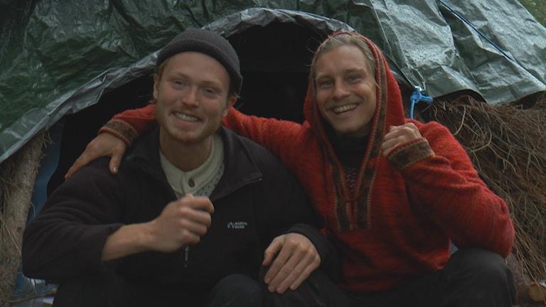 Emil Moberg Lundén och Jonathan Lindhult