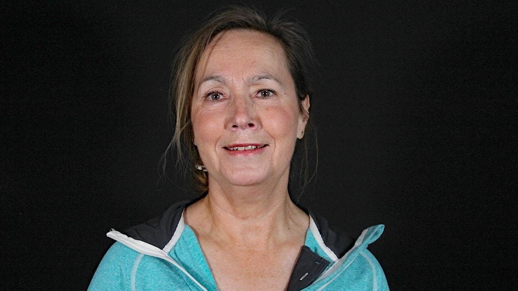 Carola Carlsson, psykoterapeut. Foto: Lars-Gunnar Olsson/Sveriges Radio.
