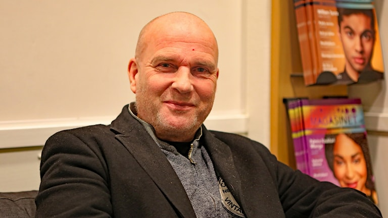 Runar Filper riksdagsledamot SD. Foto Örjan Bengtzing/Sveriges Radio