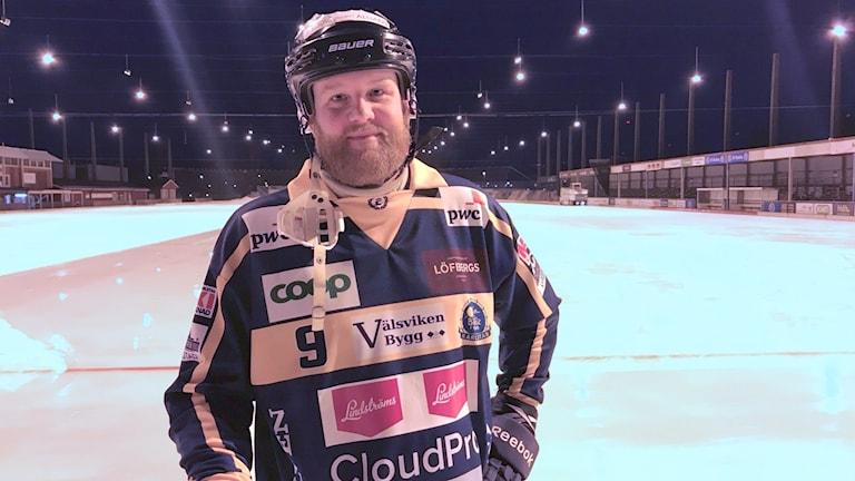 Joakim Jansson. Foto: Daniel Viklund/ Sveriges Radio.