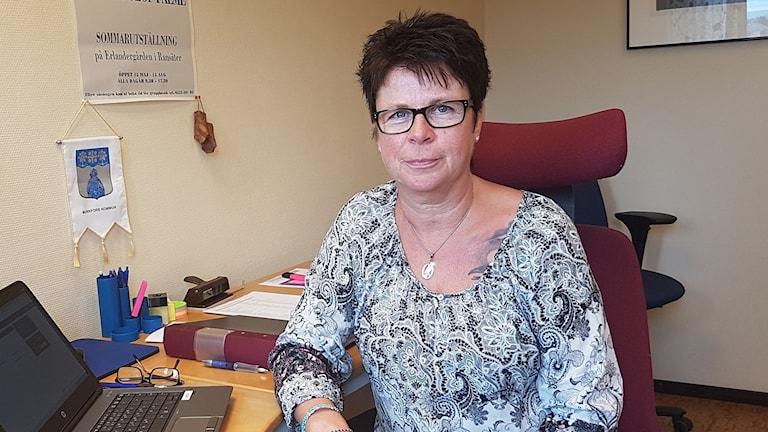 Anneli Eriksson, föreningsstödjare i Munkfors- Foto: Pressbild.