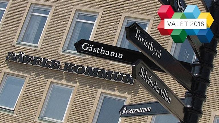 Stadshuset i Säffle. Foto: Sveriges Radio.