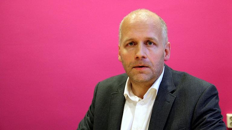 Martin Fransson, forskare vid centrum för tjänsteforskning.