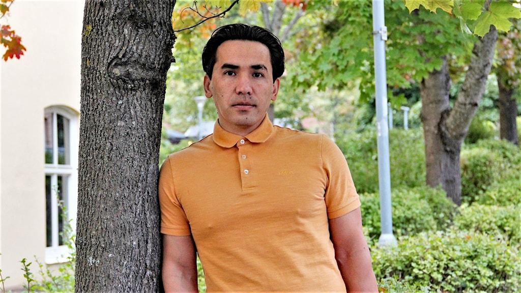 Abdullah Tajik flykting. Foto: Örjan Bengtzing/Sveriges Radio