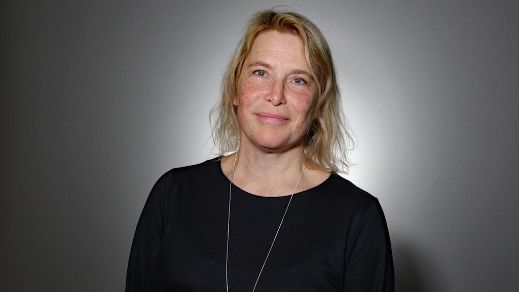 Helén Williams. Foto: Lars-Gunnar Olsson/Sveriges Radio.